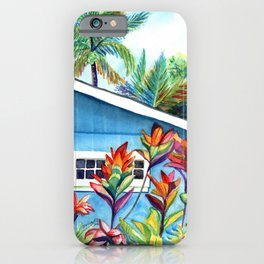 Hanalei Cottage iPhone Case