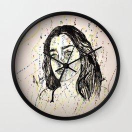 Lauren Jauregui Painting ( Fan Art piece) Wall Clock