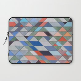 Triangle Pattern No. 7 Diagonals Laptop Sleeve