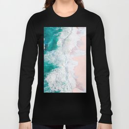 Pink Sand Beach Long Sleeve T-shirt
