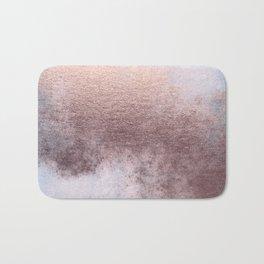 Princess Retro Rose Gold Blush Bath Mat