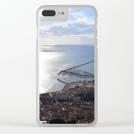 salerno Clear iPhone Case
