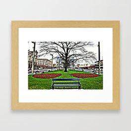 City of Ballarat - Australia. Framed Art Print