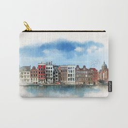 Embankments of Amsterdam. The Netherlands. Carry-All Pouch