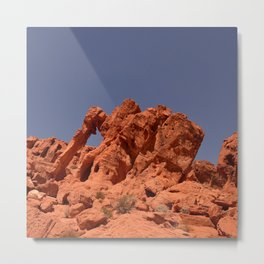 Elephant Rock, Valley of Fire Metal Print