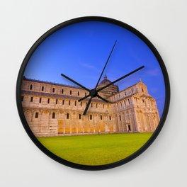 Piazza dei miracoli Wall Clock