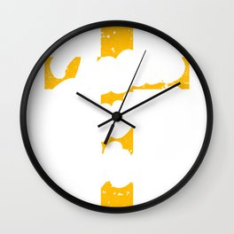 Jesus Saves Bro Religious Christian Gifts Wall Clock
