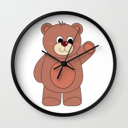 Berlin Bear Wall Clock