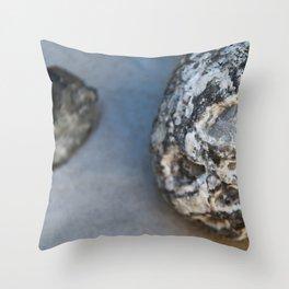 Stone Sphere Throw Pillow
