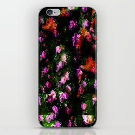 Floral Camoflage iPhone Skin