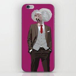 Baboon wearing William Fioravanti iPhone Skin