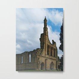 Byland Abbey 5 Metal Print