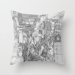 Hot Potatoes Throw Pillow