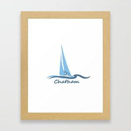 Chatham, Cape Cod Framed Art Print