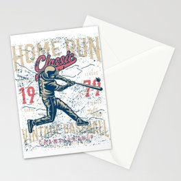 Home Run Classic Stationery Cards