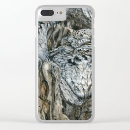 Camouflaged by Teresa Thompson Clear iPhone Case