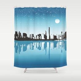 Cityscape Shower Curtain