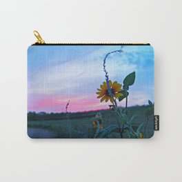SunsetFlower Carry-All Pouch