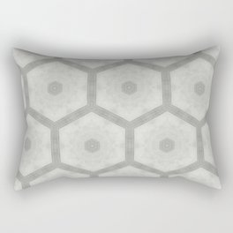 Pencil honeycomb Rectangular Pillow