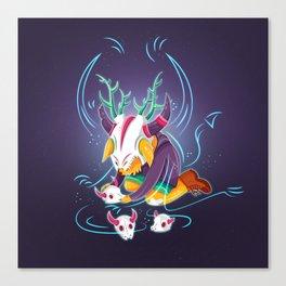 Wildlings - Chupacabra Canvas Print