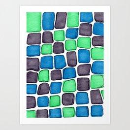 Cobbled Art Print