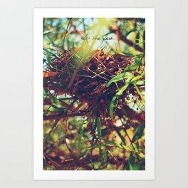 Nest Art Print