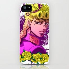 JoJo - Giorno Giovanna iPhone Case