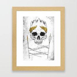 True King Framed Art Print