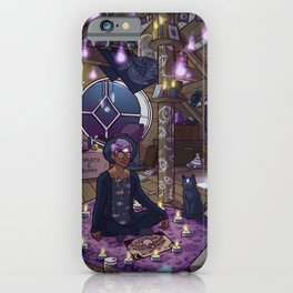 Modern Male Witch: Attic iPhone Case