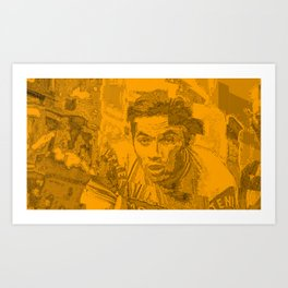 Eddy Merckx Portrait Art Print