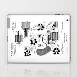1881 Revolver Patent  Laptop & iPad Skin