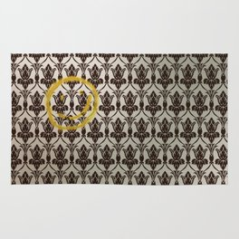 Sherlock Wallpaper Light Rug