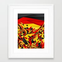 germany Framed Art Prints featuring Germany by Danny Ivan