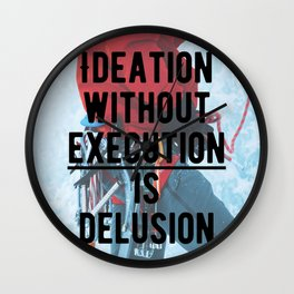 Motivational - Execute is key! Wall Clock
