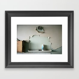 Lost mirror Framed Art Print