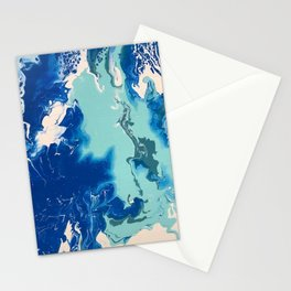 Polar ice, an aerial view Stationery Cards