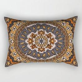 Fall Symmetrical Pattern Rectangular Pillow
