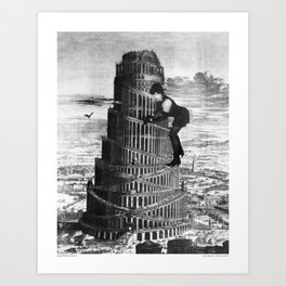 New Babylon - First Print from the Forthcoming zine Art Print