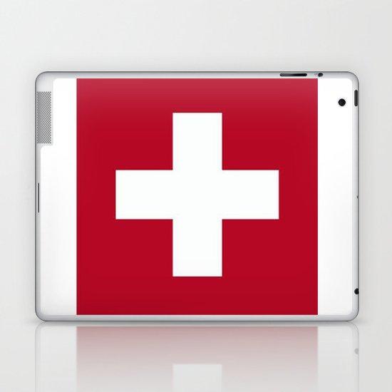 Switzerland Flag  Laptop & iPad Skin