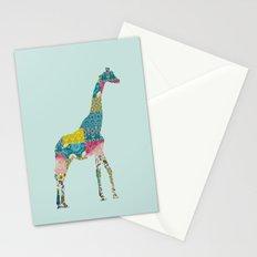 Patchwork Giraffe Stationery Cards