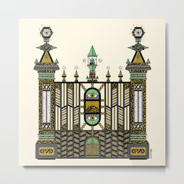 The Gates of Morpheus Metal Print