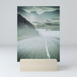 The Road and the Mountains Mini Art Print