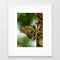 camouflage Framed Art Prints featuring Camouflage by Monica Ortel ❖