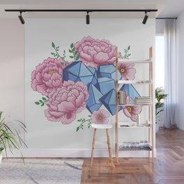 Roll Like A Girl Wall Mural