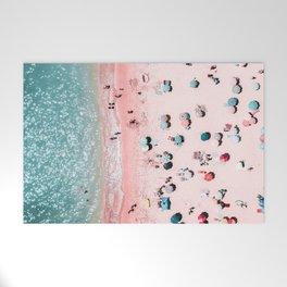 Ocean Print, Beach Print, Wall Decor, Aerial Beach Print, Beach Photography, Bondi Beach Print Welcome Mat