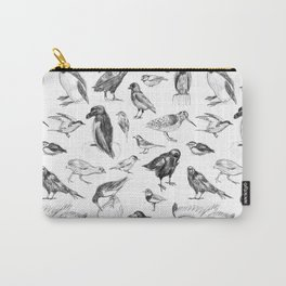 Manx Fauna - (British) Birds Carry-All Pouch