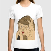 introvert T-shirts featuring Introvert 6 by Heidi Banford