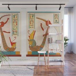 Émile Prisse d'Avennes - Bards of Ramses III from Histoire de l'art égyptien Wall Mural