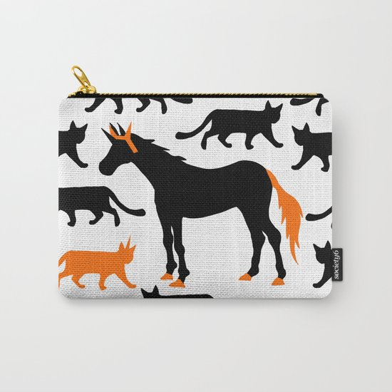 Cat Unicorn Carry-All Pouch