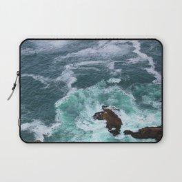 Churning Waves at Point Reyes Laptop Sleeve